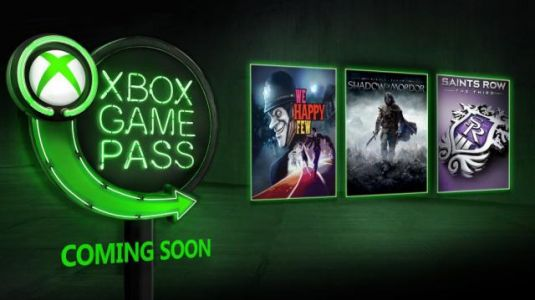 We Happy Few, Middle-earth: Shadow of Mordor, The LEGO Movie Videogame, More Coming to Xbox Game Pass