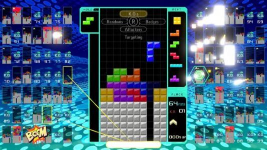 Tetris 99 originally had 8 tactical options, more DLC focused on playing with family/friends offline is coming