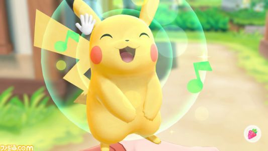 Pokemon Let's Go, Pikachu! And Let's Go, Eevee! Won't Have Held Items and Abilities