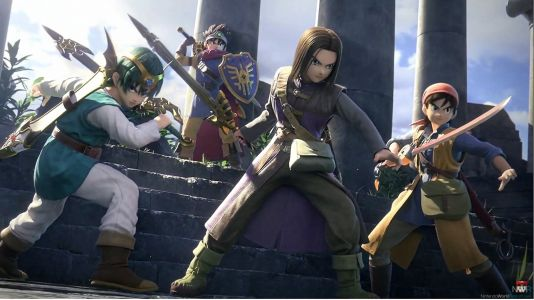 The Hero from Dragon Quest is Coming to Smash Bros