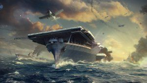 Wargaming Reworks World of Warships Aircraft Carriers