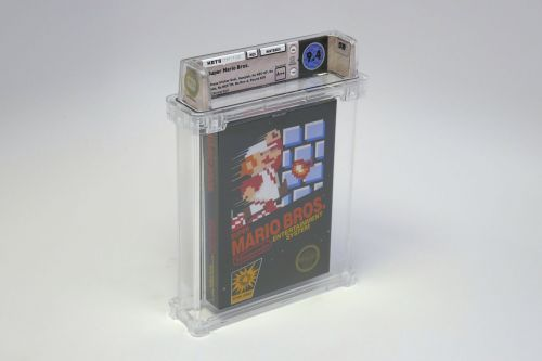What piece of video game memorabilia would you buy with $100,000?