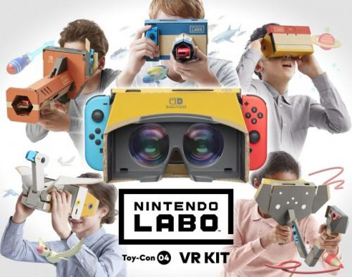 Japan: Nintendo Labo VR Kit Enters At Number Two
