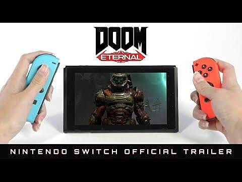 Doom Eternal Coming to Nintendo Switch in December