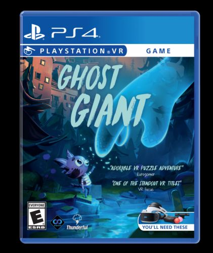 PSVR Puzzle Game Ghost Giant Now Available At Retail