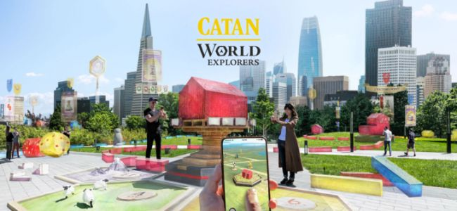 Niantic announces Catan: World Explorers, the fourth augmented reality game from the studio