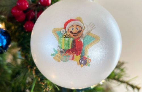 This My Nintendo Christmas ornament came at a perfect time