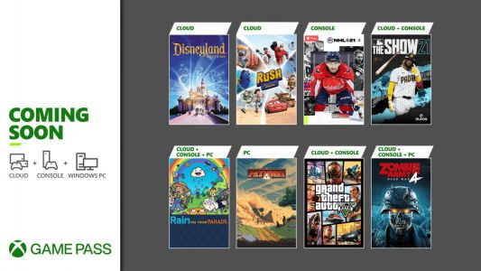 Xbox Game Pass Adds GTAV, MLB The Show 21, and More