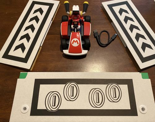 PSA: You can print more arrows to add to your Mario Kart Live track for free