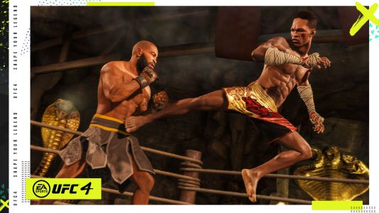 EA Sports UFC 4 Releases on August 14th for Xbox One, PS4