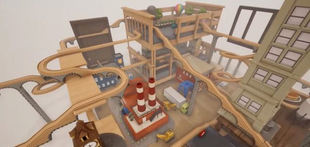Wooden train game Tracks comes to Switch this November