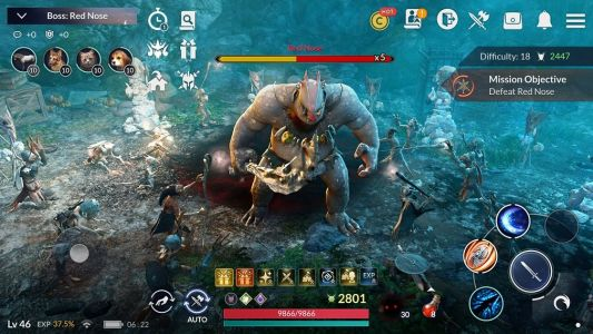 Highly Anticipated MMORPG, 'Black Desert Mobile', is Out Now for iOS and Android