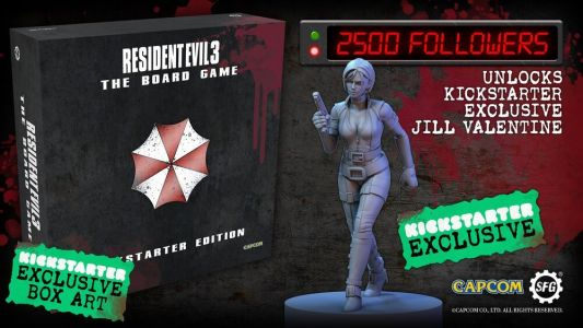 Resident Evil 3 board game begins crowdfunding later this month