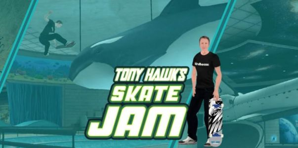 Tony Hawk's Skate Jam is available for pre-registration