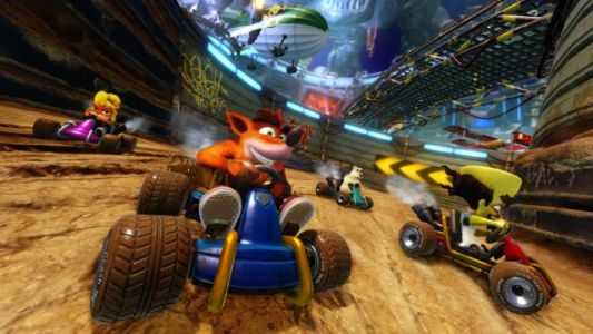 Crash Team Racing Nitro-Fueled is 3rd Biggest Debut in the UK in 2019