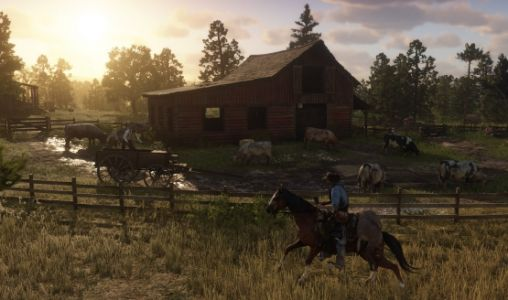 Red Dead Redemption 2 Time-Lapse Shows the Open World Evolving