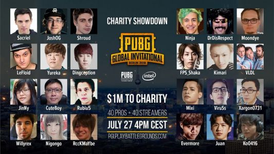 PUBG Charity Showdown Will Donate $1 Million To Charity of Team's Choice