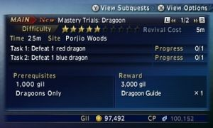 Final Fantasy Explorers Guide: How to Master Jobs (and list of Mastery benefits)