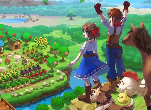 Harvest Moon: One World reveals box art, is headed to PS4 and Switch this fall