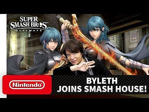 Byleth Joins Super Smash Bros. Ultimate as Fifth DLC Character