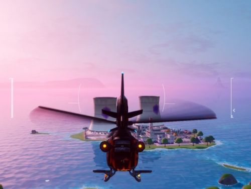 Fortnite: Chapter 2 Season 3 - Land a Choppa at the bottom of Steamy Stacks