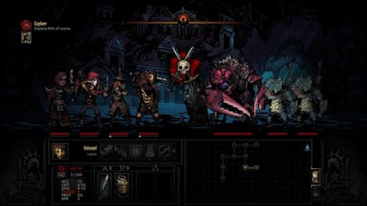 Darkest Dungeon: The Color of Madness Launches on October 11 for Switch, Xbox One and iPad