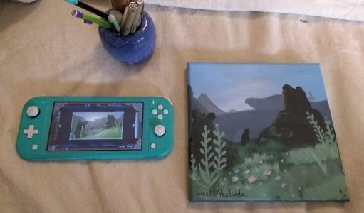 Painting your own Zelda: Breath of the Wild screenshots is just plain wholesome