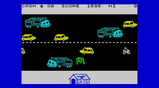 Traffic-dodging title Horace Goes Skiing was my first ever video game, what was yours?
