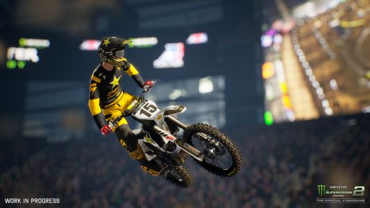 Monster Energy Supercross 2 Interview - Career Mode, Compound, Track Editor, and More