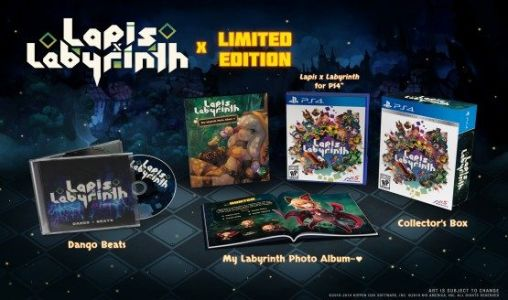 Lapis x LabyrinthLimited Edition Celebrates This Cute Action RPG