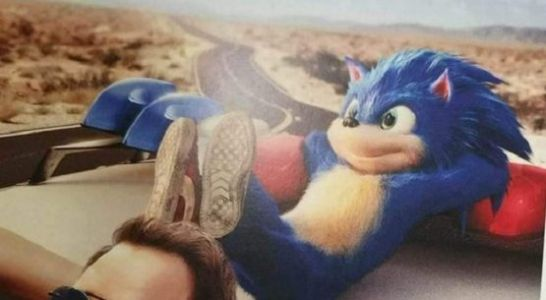 Rumor: Leaked Sonic the Hedgehog Movie Poster Supposedly Reveals Sonic's Face