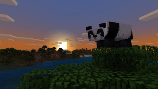 Minecraft 1.8 adds pandas, bamboo, and crossbows