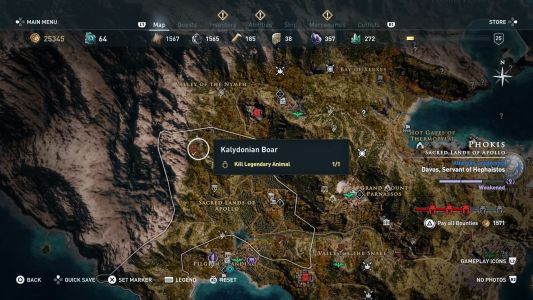 Assassin's Creed Odyssey - Daughters of Artemis quest guide: How to kill Kalydonian Boar, Hind of Keryneia, Nemean Lion