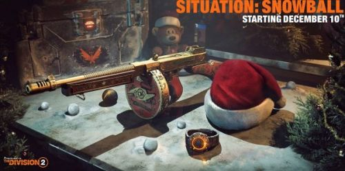 The Division 2 update to include beta version of permadeath Hardcore Mode, Situation: Snowball in-game event