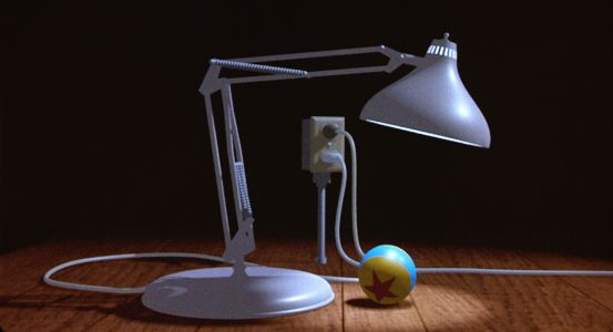 The Pixar lamp is the greatest cinematic lamp