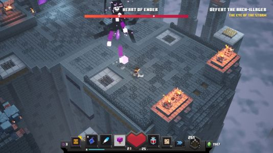 How to beat the Heart of Ender in Minecraft Dungeons