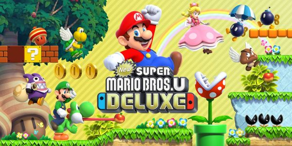 REPORT - New Super Mario Bros U Deluxe number one in UK Charts, outperforms Wii U launch