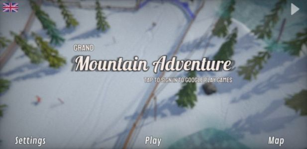 Grand Mountain Adventure is getting snowboarding, and it looks gorgeous