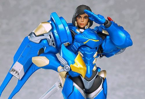Plastic reigns from above with this ace Overwatch Pharah Figma
