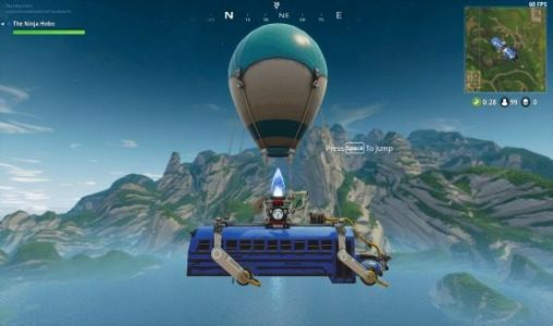 Fortnite's Battle Bus Is Traveling 25% Faster