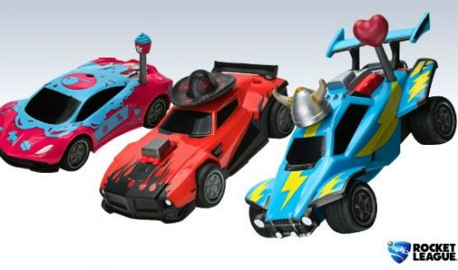 New Customizable Rocket League Toys are Now Available at Target