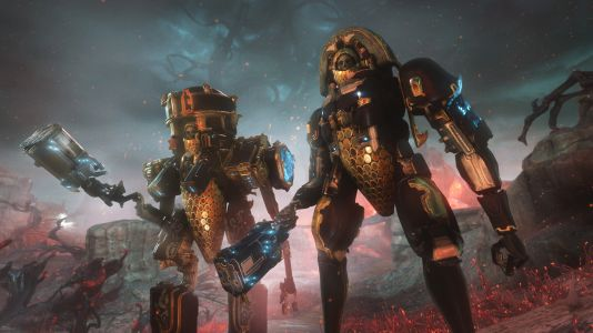 Warframe's Heart of Deimos is an infested open-world you can explore in a mech