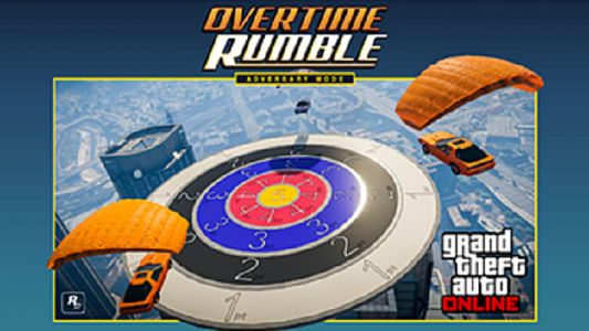 GTA Online Overtime Rumble Offering Double GTA$ Cash and RP