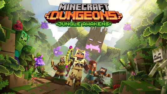 Minecraft Dungeons: Jungle Awakens DLC Out in July