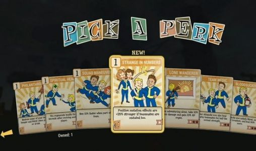Fallout 76's Card-Based Perk System Explained