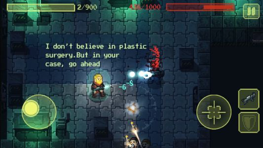Ailment is a pixel-art roguelike set in deep space out now on Android