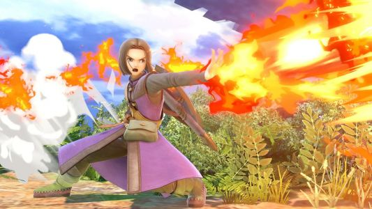 "New Smash Bros DLC character Hero is already banned from some tournaments for being ""anti-competitive"""
