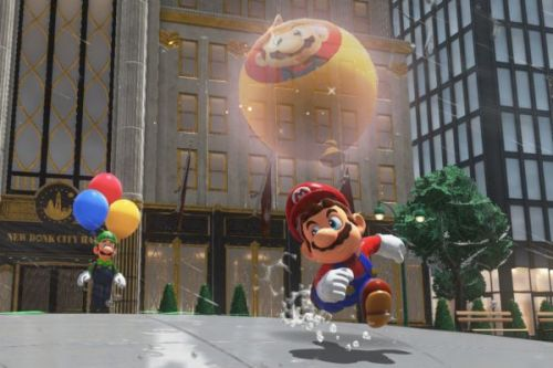 Nintendo Switch hack is letting porn creep into Super Mario Odyssey