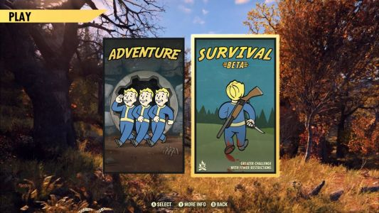 Fallout 76's Survival Mode beta brings high-stakes PvP to the game today