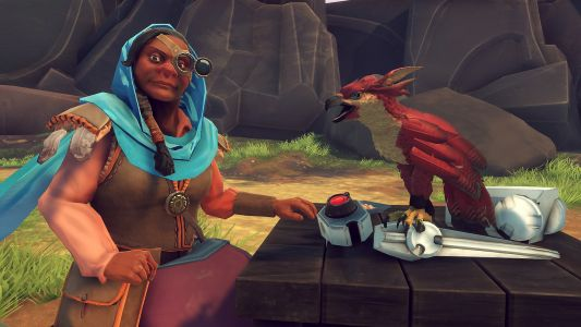 Falcon Age flaps to PC with VR support
